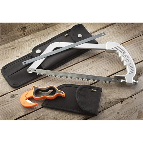 knife saw combo allen 174 high mesa skinning knife and saw combo 165459