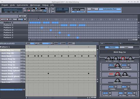 tutorial hydrogen drum machine drums programmieren mit hydrogen guitar knowhow