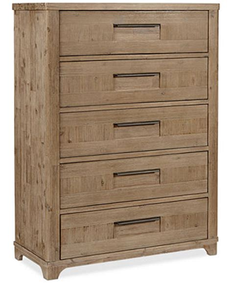 summerside 5 drawer chest furniture macy s