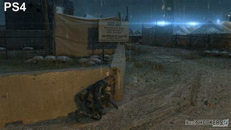 ps4 themes metal gear solid metal gear solid v ground zeroes screenshot comparison