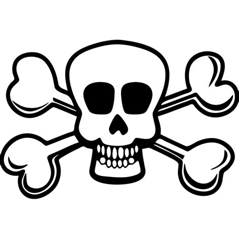 imagenes de calaveras piratas para imprimir muestra tu esp 237 ritu pirata con este adhesivo de una