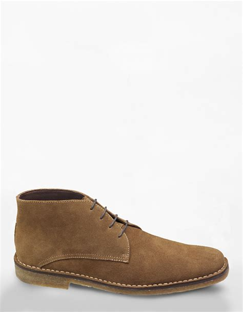 johnston and murphy chukka boots johnston murphy runnel camel suede chukka boots in for