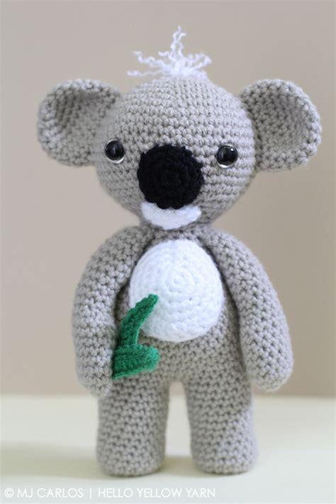 amigurumi koala pattern kc koala and finn mcfox amigurumi crochet patterns