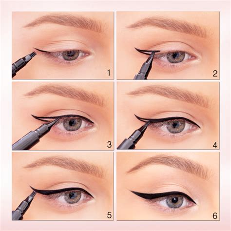 eyeliner tutorial for beginners pencil 5 different eyeliner styles for beginners step by step