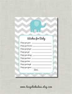 wishes for baby shower advice boy elephant by busychickadees