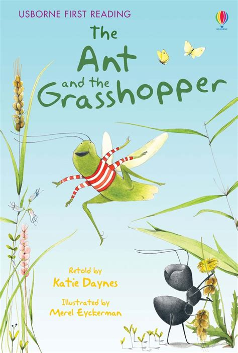 the ant and the grasshopper picture book the ant and the grasshopper at usborne children s books