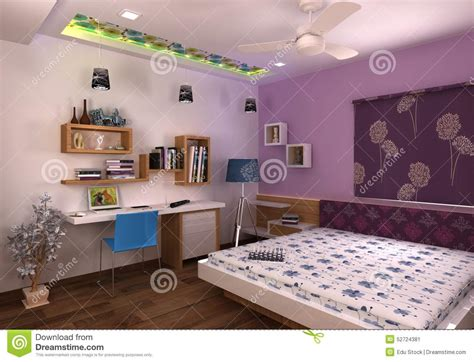 bedroom construction design 3d master bedroom interior design stock illustration