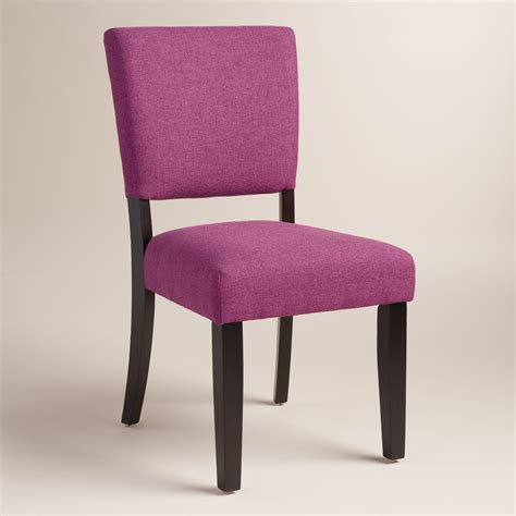purple mady dining chairs set of 2 world market - Purple Dinning Chairs