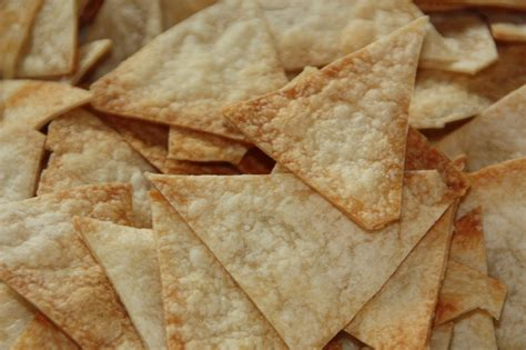 Handmade Chips - tortilla chips recipe dishmaps