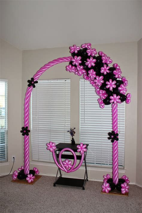 Ls5880 Flamingo Balloon Top 2 santo balloon design balloon arch