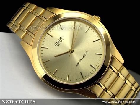 Casio Mtp Voo2g Gold buy casio collection gold tone s mtp 1128n 9a mtp1128n buy watches casio