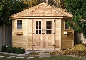 outdoor living today 9x9 five sided shed pen99 on now