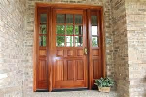 Fiberglass Front Door With Sidelights Fiberglass Exterior Doors With Sidelights Home