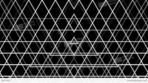 triangle pattern line triangle line pattern with alpha matte stock animation