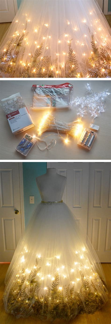 diy light up socks these 21 diy wedding reception dresses will knock your socks