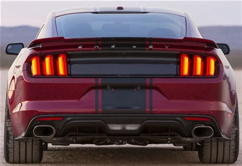 2015 2017 mustang carbon fiber tail light panel