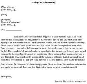 Apology Letter To Kohls For Stealing Exles Of Apology Letters Apology Letter For Customer Documentshub Comsle To Sle