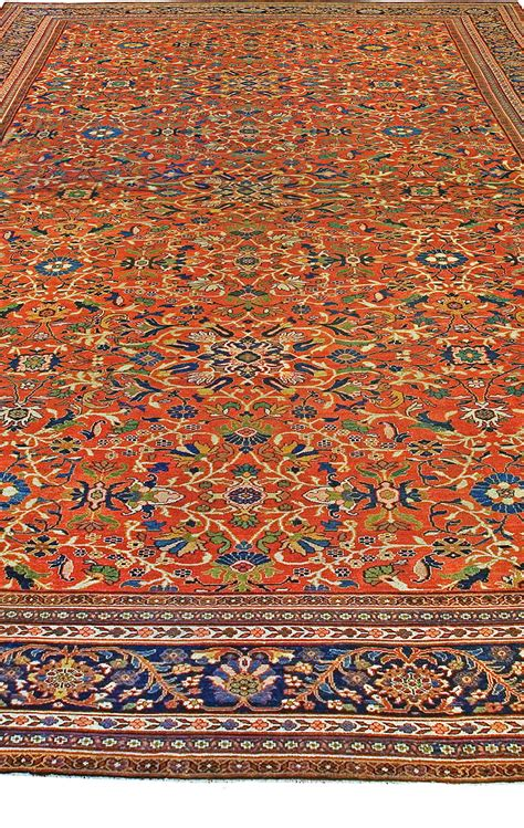 Oversized Antique Persian Sultanabad Rug Size Adjusted Oversized Rugs