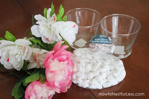 Cheap Vases For Wedding Centerpieces Dollar Store Flower Vase Centerpieces How To Nest For Less