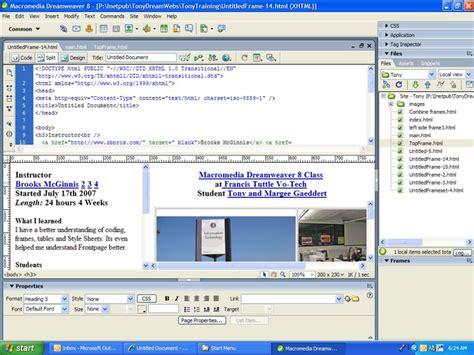 setup xp server dreamweaver download macromedia dreamweaver 8 sd menu full version