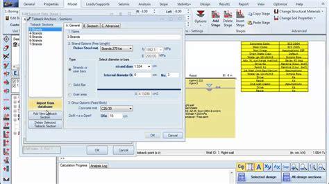 Sheet Pile Design Spreadsheet by Secant Pile Design Spreadsheet And Preventive Maintenance