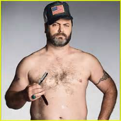 rob offerman parks recreation s nick offerman shirtless for gq