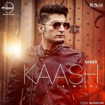 tera mera ek wada ni punjabi song bilal saeed kaash lyrics musixmatch