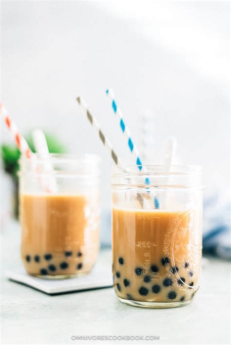 Boba Tea Gift Card - how to make bubble tea boba tea 珍珠奶茶 omnivore s cookbook