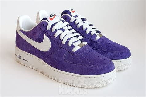 imagenes nike force nike air force 1 suede 2013 red et purple sneakers addict