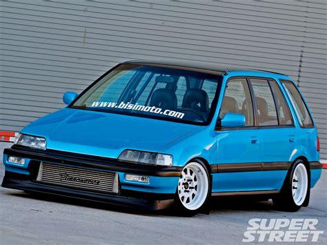 bisimoto wagovan 1988 honda civic wagon bisi ezerioha super street magazine