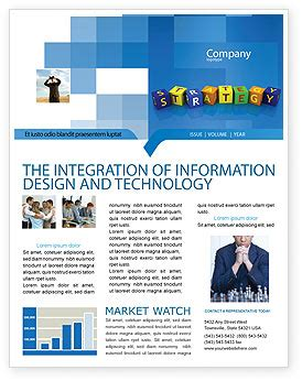 Business Strategy Education Newsletter Template For Microsoft Word Adobe Indesign 02836 Company Newsletter Email Template