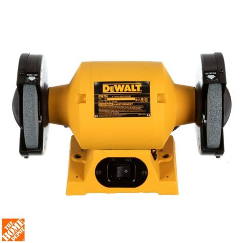 craftsman 6in bench grinder dewalt 6 in 150 mm bench grinder