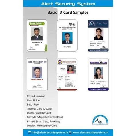 id card design chennai basic id card view specifications details of id card