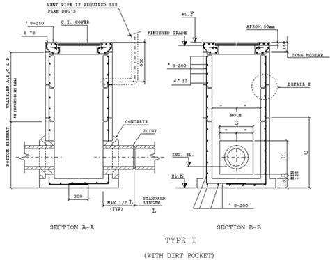 man sections bn ds j26 prefabricated reinforced concrete manholes