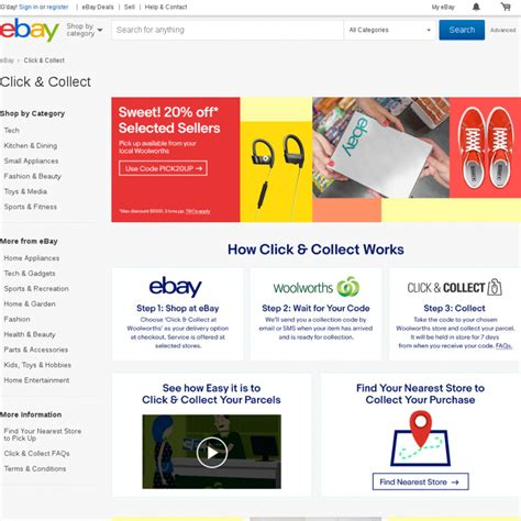 ebay ozbargain 20 off selected sellers ebay maximum 3 transactions