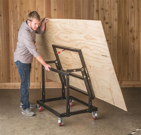 rockler material mate panel carrier  shop stand