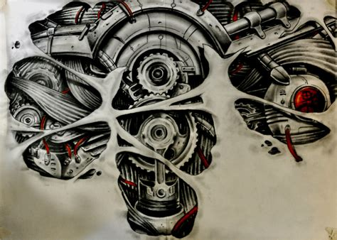 gears and muscules by karlinoboy on deviantart