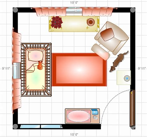 Bedroom Planner Layout Nursery Rabit Stew