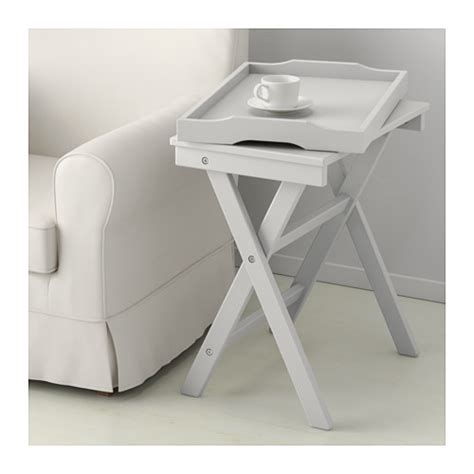Folding Tray Table Ikea Maryd Tray Table Grey 58x38x58 Cm Ikea