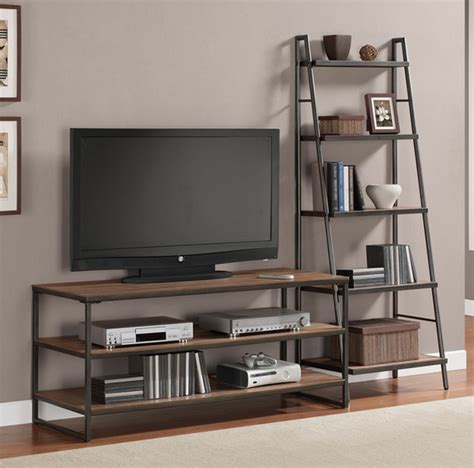 Meja Tv Minimalis Brown 60 model rak tv minimalis desainrumahnya