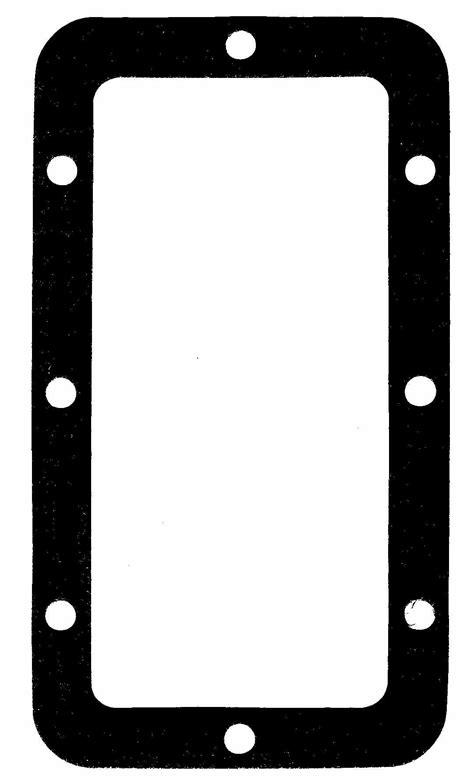 printable gasket templates gasket indentification templates