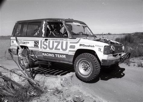Isuzu Baja Filming For The Upcoming Trooper Documentary Johnny5ive
