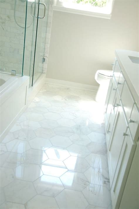 White Floor Tiles For Bathroom by 18 Large White Bathroom Floor Tiles Ideas And Pictures