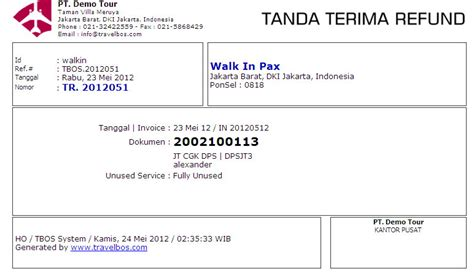 Contoh Format Credit Note contoh invoice format related keywords contoh invoice