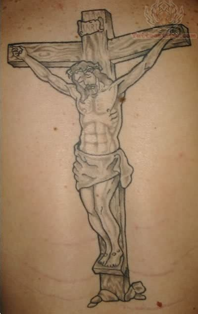 jesus in the cross tattoo jesus images designs