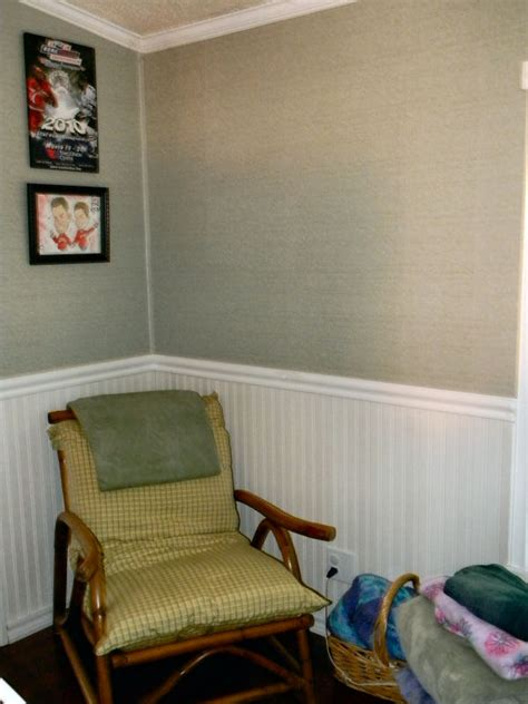 Wainscoting Ideas Bathroom by Get Rid Of Wall Strips In Mobile Home My Mobile Home