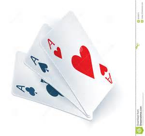 three aces in cards stock images image 26302874