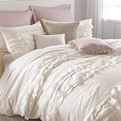 off white bedding dkny flirt duvet cover in off white bed bath beyond