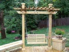 pergola swing teak made into a pergola swing for the yard