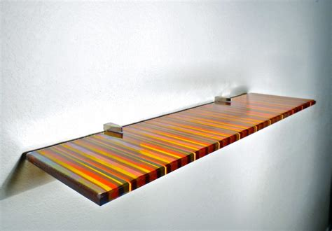 Wall Glass Shelf by Artful Glass Shelves Modern Display And Wall Shelves